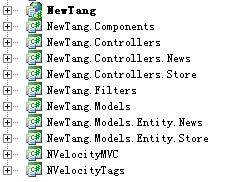 ASP.NET MVC项目结构重构最终图